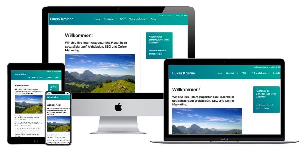 Internetagentur und Werbeagentur Rosenheim