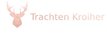 Trachten Online-Shop von Trachten Kroiher aus Rosenheim